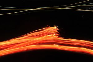 Flames in Motion 3 by PhotonicBohemian