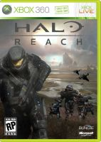 Halo Reach Fanmade cover2 by ApertumCodex