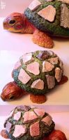 Prehistoric Turtle Fossil Holder by kicat