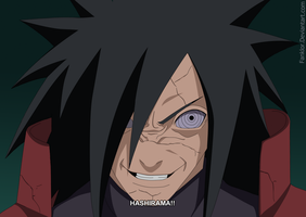 Naruto 628 : Madara by Fanklor