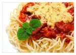 Spaghetti with meat sauce by VintageWarmth