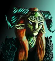the faun from pans labyrinth by crystal-meths
