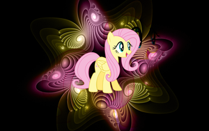 [Wallpaper] Fluttershy [MLP] by RicePoison