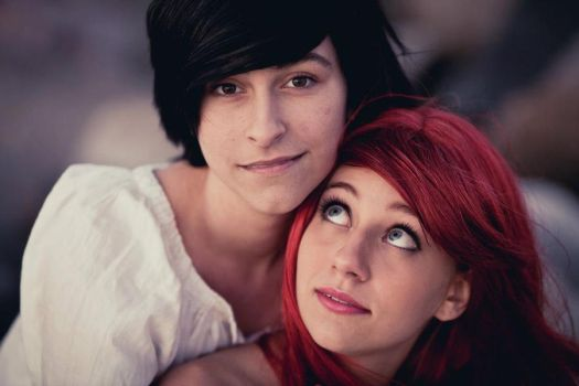 Ariel and Eric - The Little Mermaid by Flybike