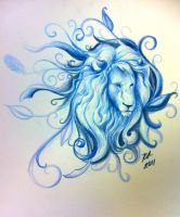 Blue Lion by knezak