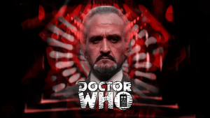50th Anniversary Roger Delgado [Master1] Wallpaper by theDoctorWHO2