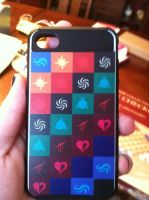 My Badass iPhone Case by The-Heir-of-Time