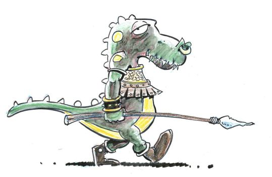 Croco Guerrier by PVIL