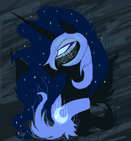 Mare in the moon by XycuroLawls