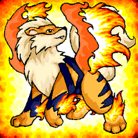 winged arcanine by windbladeicepuppy