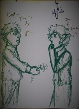 When Frodo meets Sam by SherlocksHedgehogJ