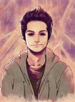 Dylan O brien - Stiles by yaichino