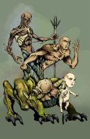 Colossus of life by gamaiel