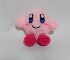 Kirby ami by gwilly-crochet