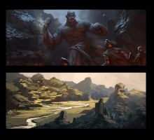 painting studies by Raph04art