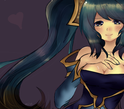 League of Legends - Sona by xxAlisa