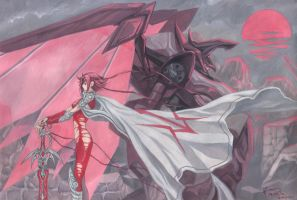Kallen Kozuki: The Red Knight of Zero by Nick-Ian