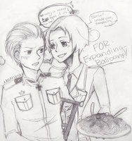 APH: Lady and the Tramp, Yes? by MisakiKohi