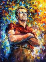 JAMES DEAN by Leonid Afremov by Leonidafremov