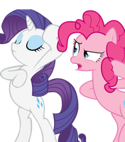 Pinkie Pie and Rarity by Fluttershy-12