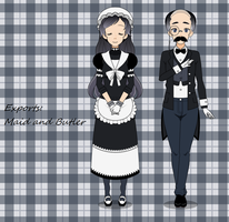 Exports: Maid and Butler by PizzaBurgers