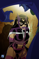 DiD JLU Huntress Commission by sean-izaakse