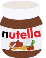 Nutella Vector by anonymousnekodos
