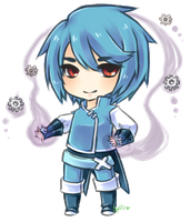 Chibi Metagross Gijinka by Antikuu