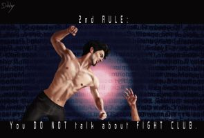 You DO NOT talk about  FIGHT CLUB by Debby1996