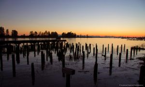 Old Jetty Sunset by Val-Faustino