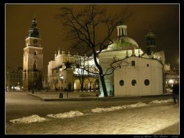 Night in Cracow - Winter by Lady-CaT