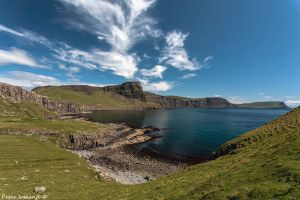 Wispy Clouds at Neist Point by Pistolpete2007