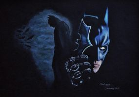 The Dark Knight by NinjaTofuPrincess