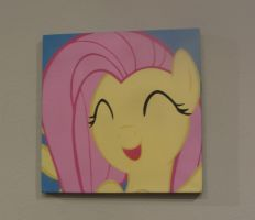 Happy Fluttershy by pyrobob