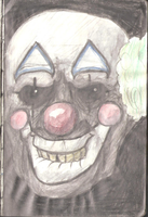 Creepy clown by LusitanianDavid
