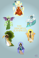 The Olympians: Part 1 by MissEligon
