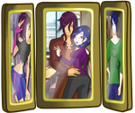 Picture frame of family #3 by HybridCatgirl995