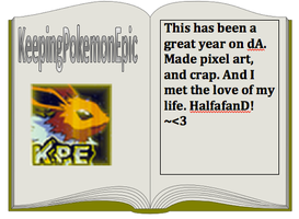 My dA yearbook entry by KeepingPokemonEpic