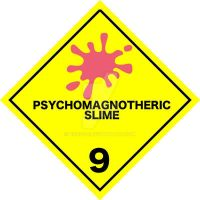 DOT Psychomagnotheric Slime Label by borzou