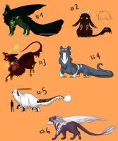 Massive Adoptables Sheet Auctions 4 - CLOSED by Karijn-s-Basement