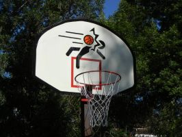 Portal Basketball Hoop by Skaros444