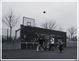 Ball in the air by SmellikeBaikalSpirit