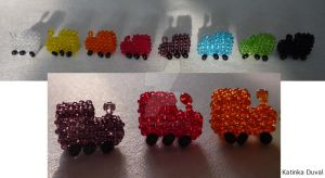 Mexican Train - All the trains by Katinka-Duval