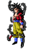 Majin SSJ4 Goku by DBZArtist94