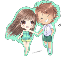 Chibi Commission: by KarameruYukika