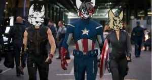 The Avengers. by T0SHII