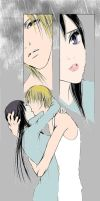 Kyohei and Sunako kiss by Cocoskywalker