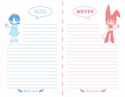 Notes by Danime-chan