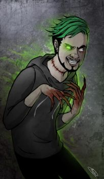 Dark Side - Antisepticeye by maskman626