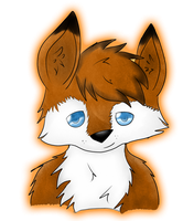 Little Fox x3 by CKittyKat98